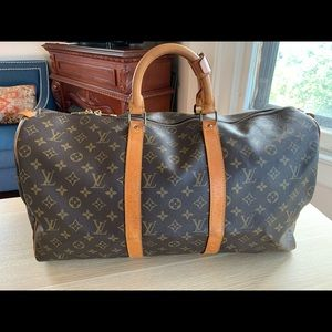 💯% Auth Louis Vuitton Boston keepall Handbag